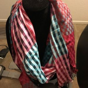 New Soft colorful scarf